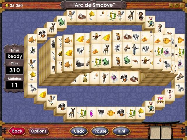 ゲームのスクリーンショット 1 マージャン タワーズ エタニティ