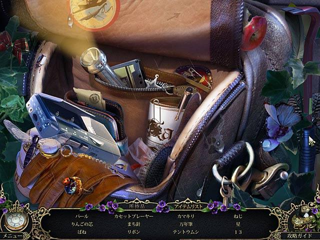 ゲームのスクリーンショット 1 ミステリー・トラッカー:ブラック島の謎 コレクターズ・エディション