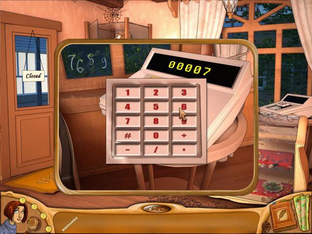 ゲームのスクリーンショット 3 ナタリー ブルックス:トレジャーハウスの秘密