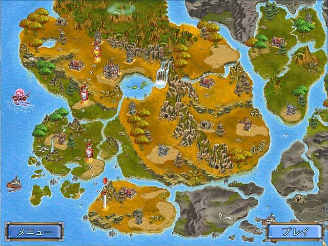 ゲームのスクリーンショット 1 ナイト・カウボーイ:アーサー王宮廷のカウボーイ