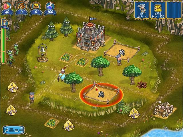 ゲームのスクリーンショット 3 ナイト・カウボーイ:アーサー王宮廷のカウボーイ