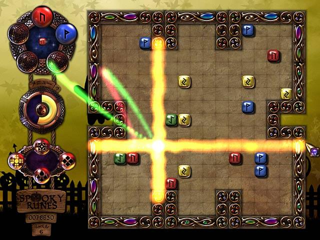 ゲームのスクリーンショット 2 スプーキー ルーンズ