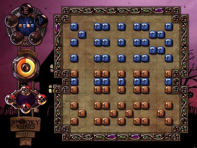 ゲームのスクリーンショット 3 スプーキー ルーンズ