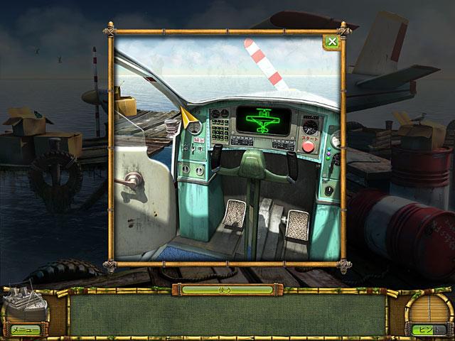 ゲームのスクリーンショット 3 ミステリー島の秘宝:幽霊船に潜む謎