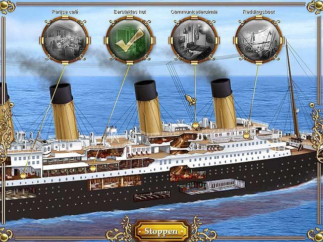 Spel Screenshot 2 1912: Titanic Mystery