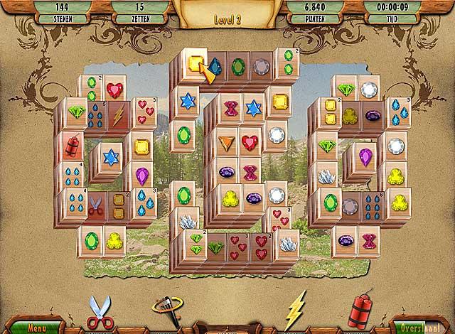 Spel Screenshot 2 3D Mahjong Deluxe