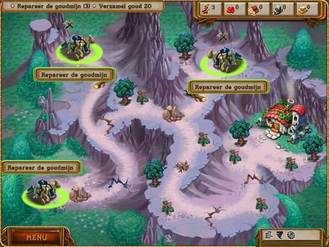 Spel Screenshot 2 A Gnome's Home: Reis naar het Kristal