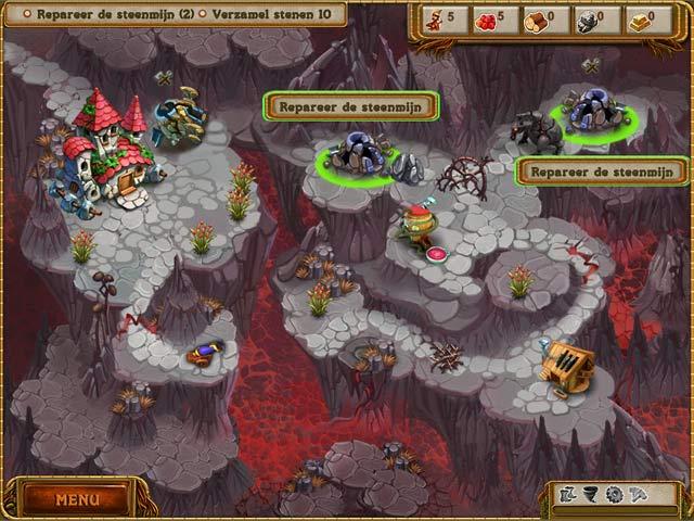 Spel Screenshot 3 A Gnome's Home: Reis naar het Kristal
