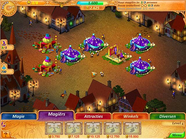 Spel Screenshot 1 Abigail and the Kingdom of Fairs