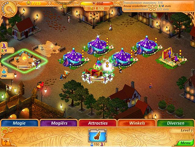 Spel Screenshot 3 Abigail and the Kingdom of Fairs