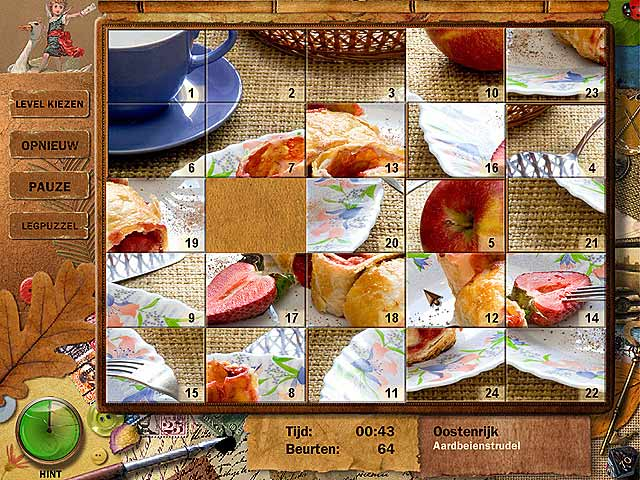 Spel Screenshot 1 Adore Puzzle 2: Flavors of Europe