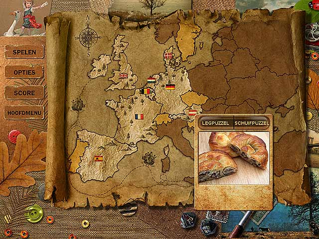 Spel Screenshot 2 Adore Puzzle 2: Flavors of Europe
