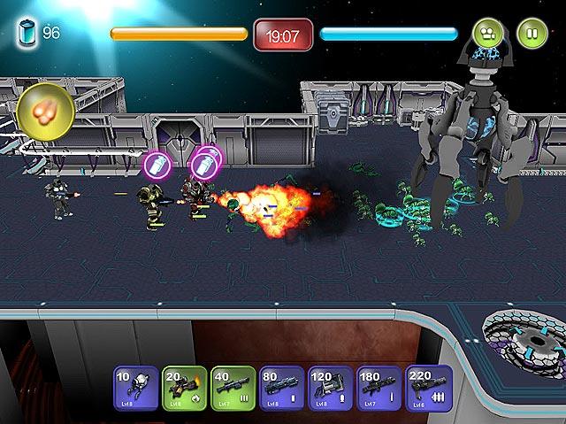 Spel Screenshot 2 Alien Hallway