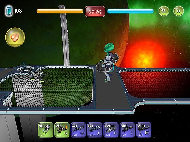 Spel Screenshot 3 Alien Hallway
