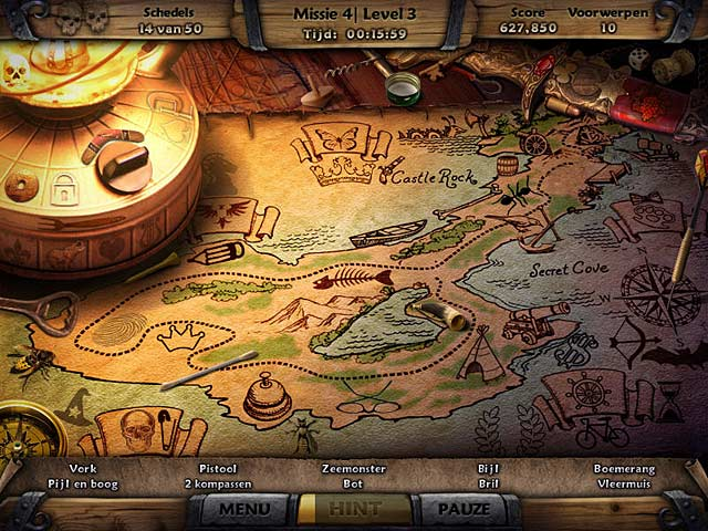 Spel Screenshot 2 Amazing Adventures: The Caribbean Secret