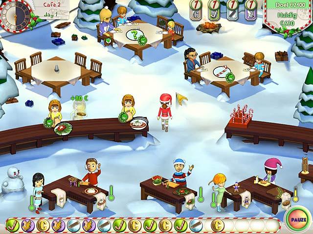 Spel Screenshot 2 Amelie's Cafe: Holiday Spirit