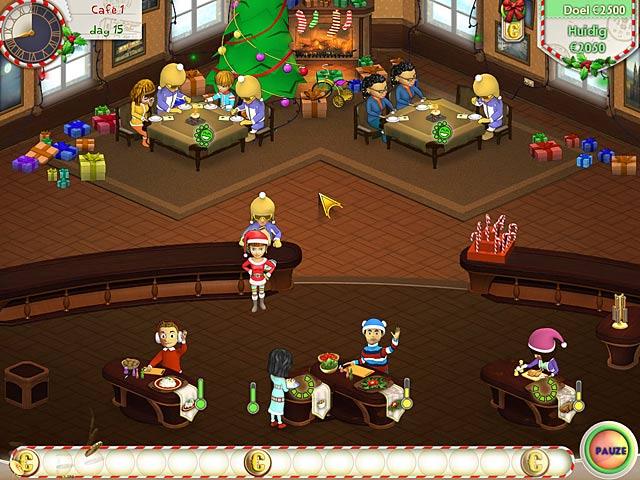 Spel Screenshot 3 Amelie's Cafe: Holiday Spirit