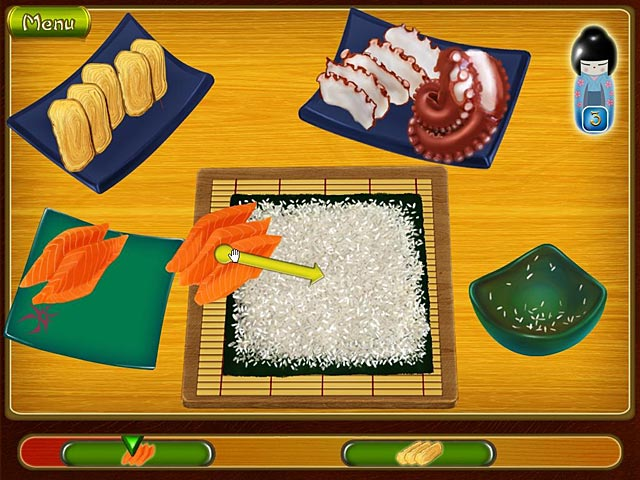 Spel Screenshot 2 Asami's Sushi Shop