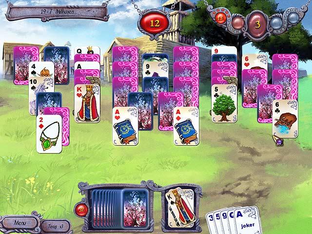 Spel Screenshot 3 Avalon Legends Solitaire