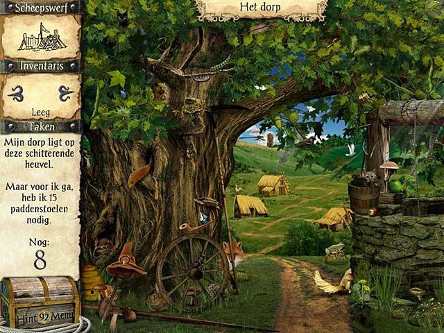 Spel Screenshot 1 Avonturen van Robinson Crusoe