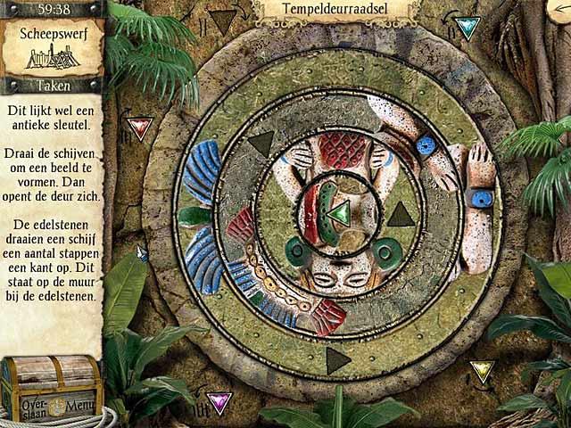 Spel Screenshot 2 Avonturen van Robinson Crusoe