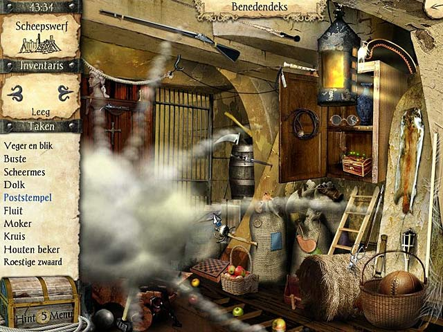 Spel Screenshot 3 Avonturen van Robinson Crusoe