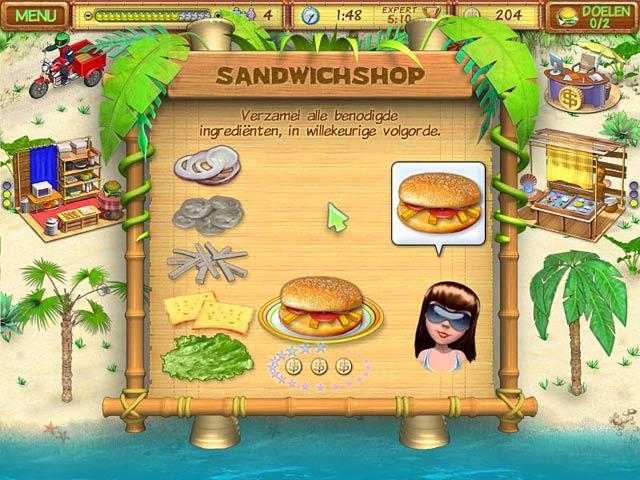 Spel Screenshot 1 Beach Party Craze