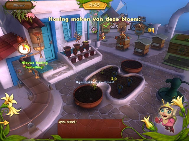 Spel Screenshot 2 Bee Garden: The Lost Queen