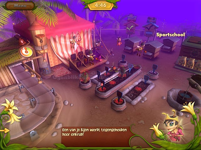Spel Screenshot 3 Bee Garden: The Lost Queen