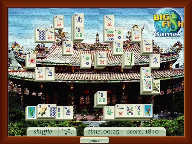 Spel Screenshot 2 Beijing Mahjong's