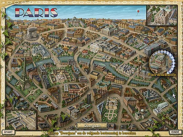 Spel Screenshot 2 Big City Adventure: Paris