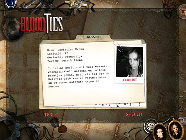 Spel Screenshot 2 Blood Ties