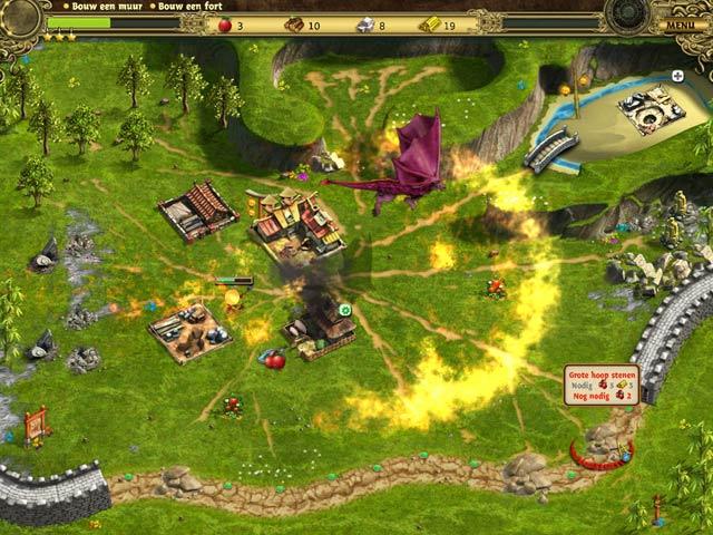 Spel Screenshot 2 Bouw de Chinese Muur