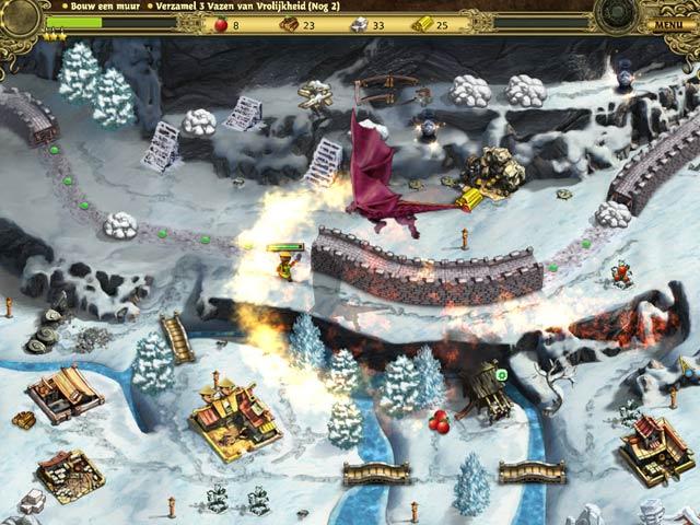 Spel Screenshot 3 Bouw de Chinese Muur