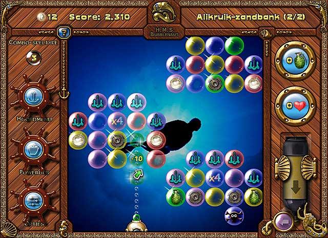 Spel Screenshot 1 Bubblenauts: De Jacht Op De Schat Van Jolly Roger