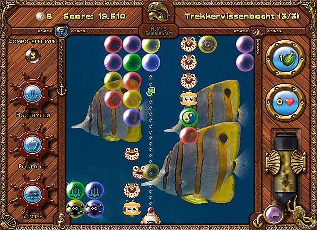 Spel Screenshot 2 Bubblenauts: De Jacht Op De Schat Van Jolly Roger