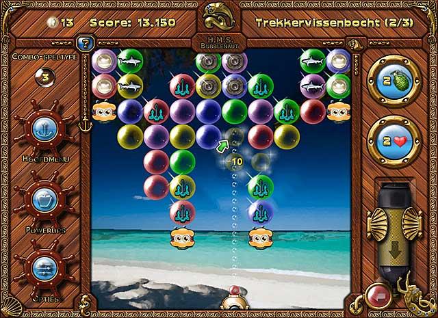 Spel Screenshot 3 Bubblenauts: De Jacht Op De Schat Van Jolly Roger
