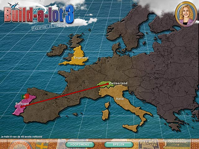 Spel Screenshot 2 Build-a-lot 3: Passport to Europe