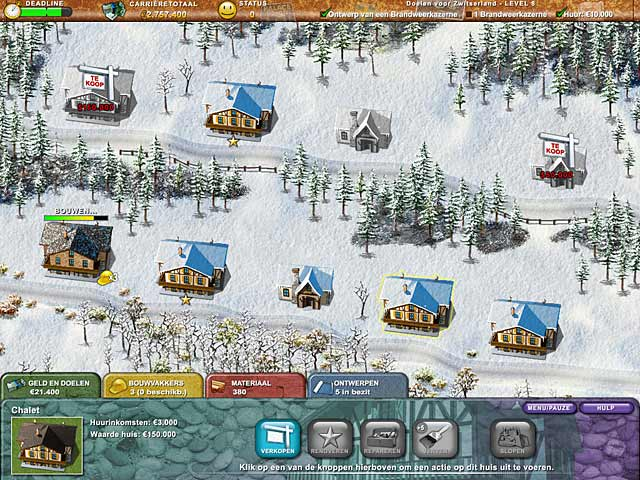 Spel Screenshot 3 Build-a-lot 3: Passport to Europe