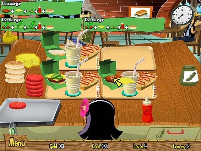 Spel Screenshot 1 Burger Island