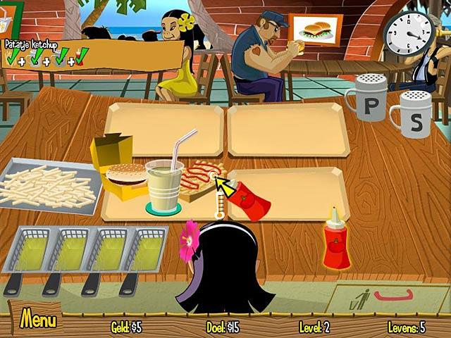 Spel Screenshot 3 Burger Island