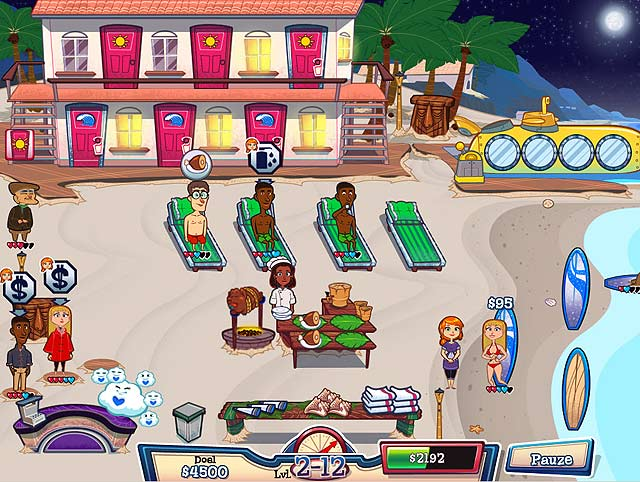 Spel Screenshot 2 Chloe's Droomresort