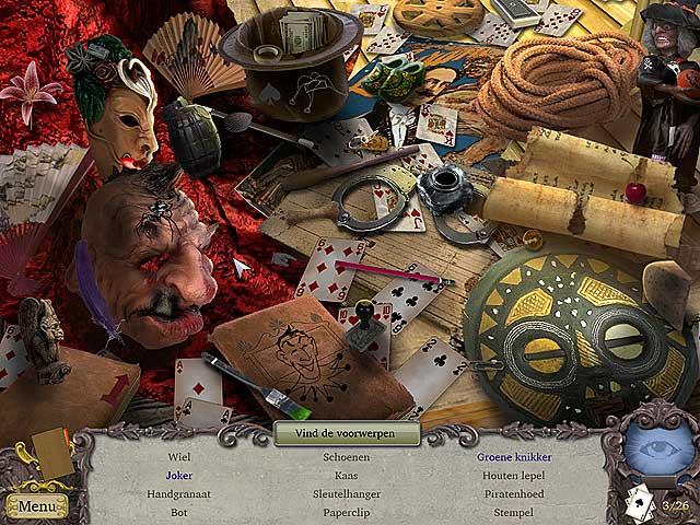 Spel Screenshot 1 Clairvoyant: De Verdwenen Goochelaar