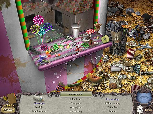 Spel Screenshot 2 Clairvoyant: De Verdwenen Goochelaar