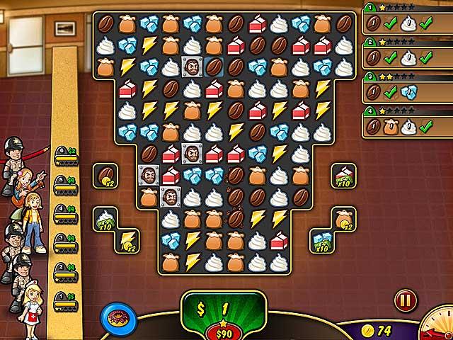 Spel Screenshot 1 Coffee Rush 3
