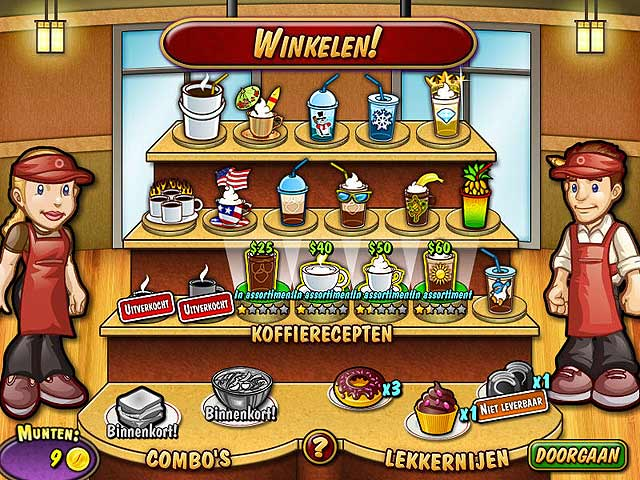 Spel Screenshot 2 Coffee Rush