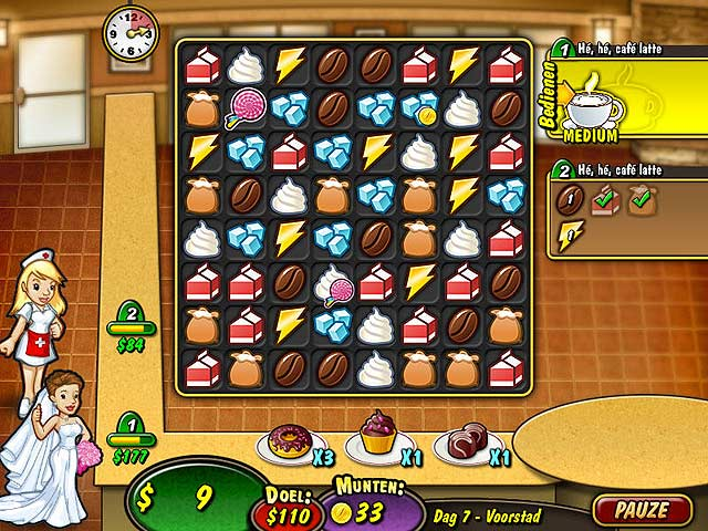 Spel Screenshot 3 Coffee Rush