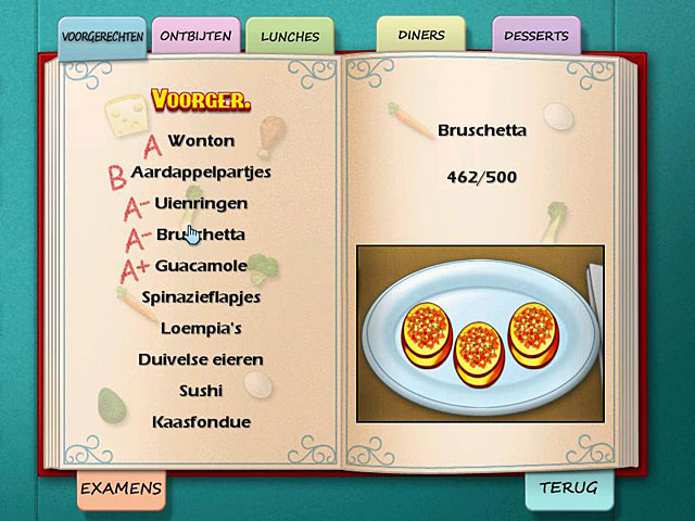 Spel Screenshot 3 Cooking Academy