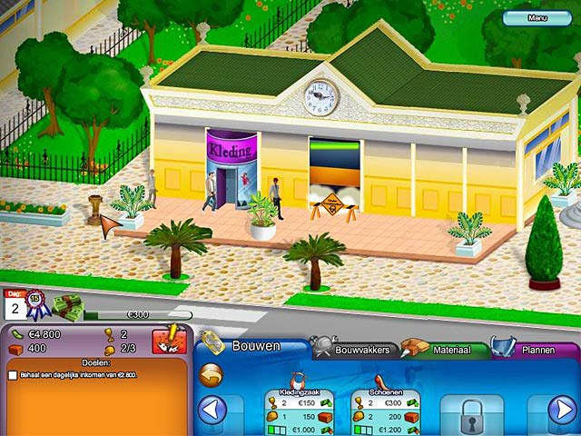 Spel Screenshot 1 Create A Mall