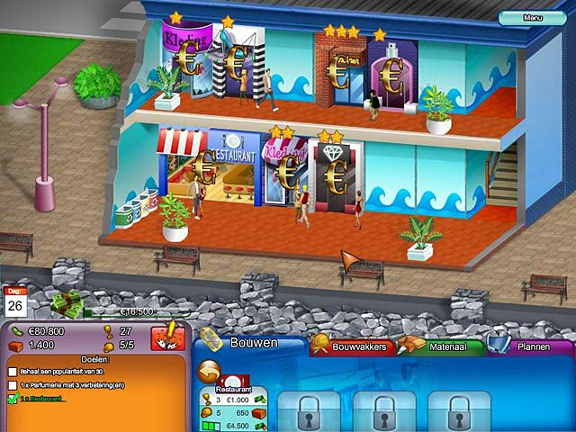 Spel Screenshot 3 Create A Mall